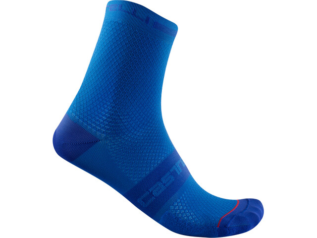 Castelli SuperLeggera T 12 Socks, niebieski